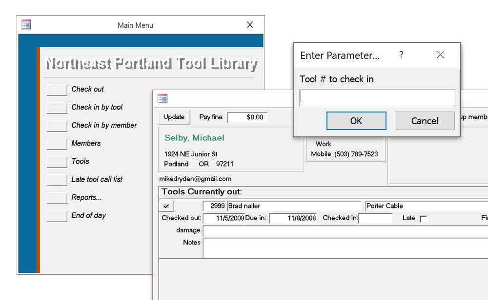NE Portland Tool Library – Michael Selby
